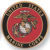 "Marine Corps 2"" Embossed"