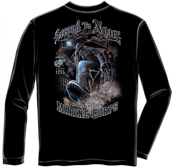 Long Sleeve USMC Second To None
