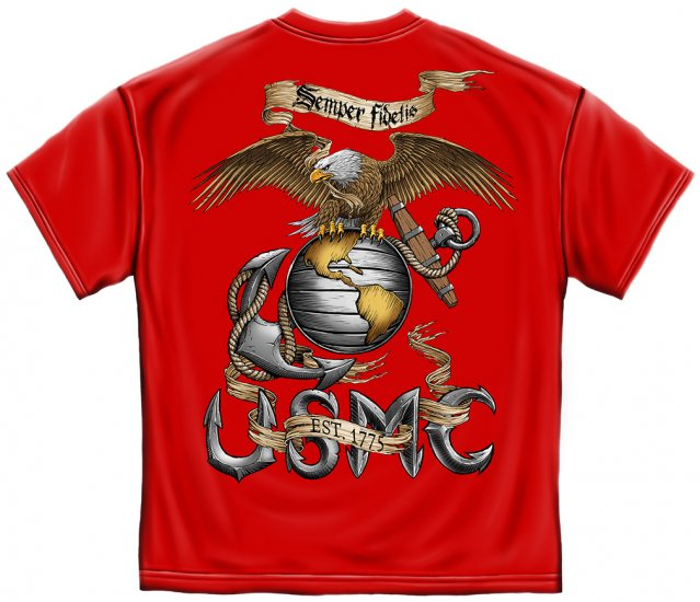 Eagle USMC Red