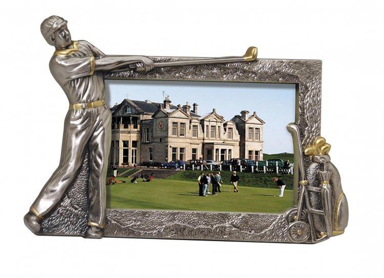 OCDFR310 - Die Cast Metal Golf Picture Frame