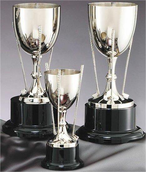 "OCDGC603 - 12-3/4"" Nickel Plated Golf Cup"