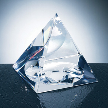 OCPRC457G - Medium Globe Pyramid