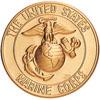 "Marine Corps 2"" Stamped"