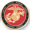 """Marine Corps 2"""" Etched"""