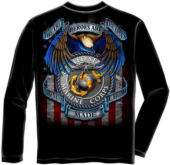 Long Sleeve Hero's Marines