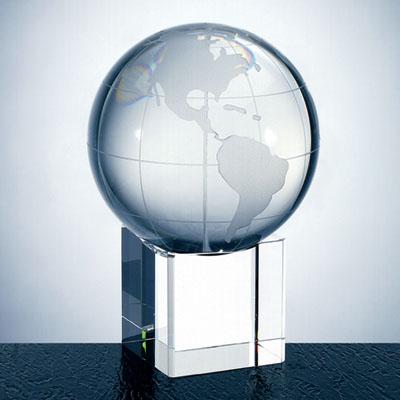 OCPRC580CBEL - Medium World Globe With Cube Base