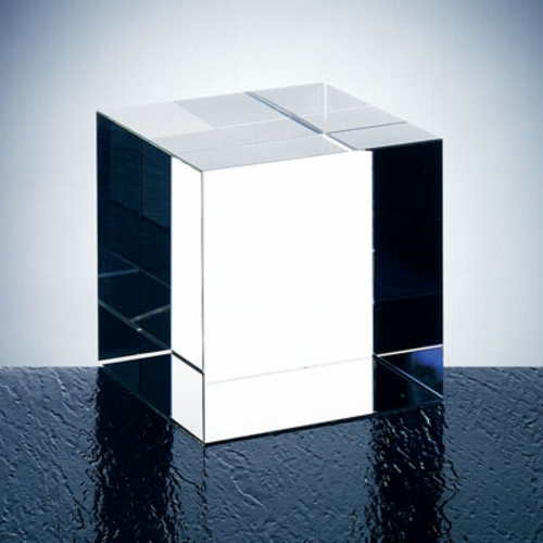 OCPRC691 - Small Clear Straight Cube
