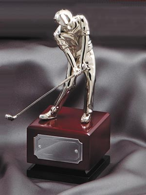 OCDG1201 - Nickel Plated Golfer