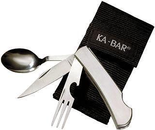 Ka-Bar 1300 Hobo 3-in-1 Utensil Kit