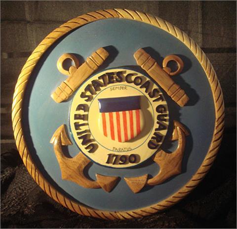 OCLO12 - United States Coast Gaurd Wood Seal