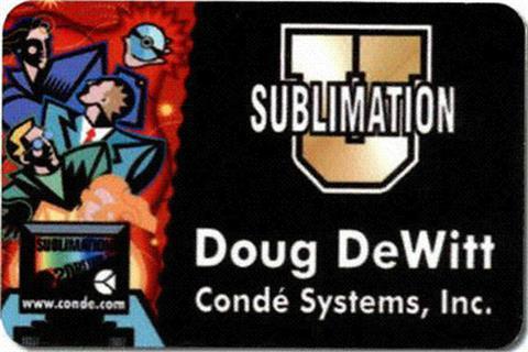 "Sublimation Name Badge 2"" X3"""