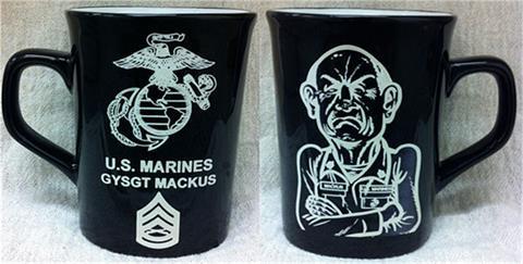 Coffee Mug Black/White
