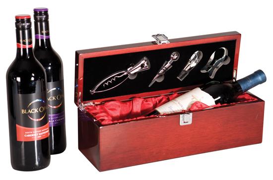 OCJWBX01 - Rosewood Piano Finish Single Wine Box
