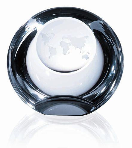 OCDPRC669 - Globe Dome Paperweight