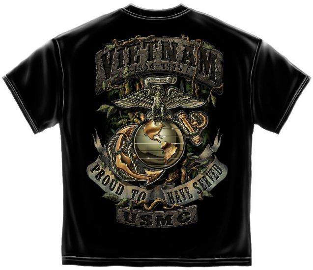 USMC Vietnam/Green Jungle Theme Black