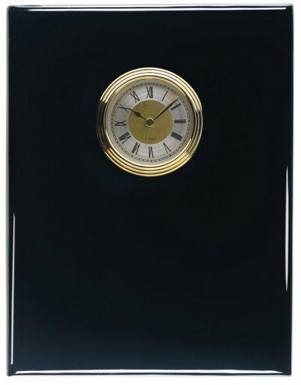 8 X 10 Black Piano Finish With Clock