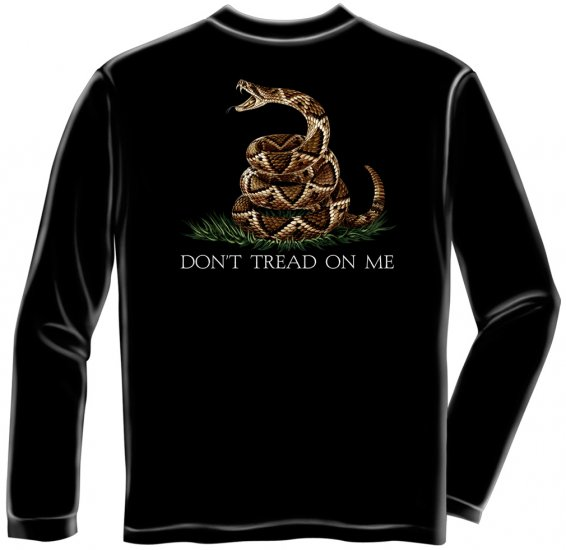 Long Sleeve Don't Tread On Me