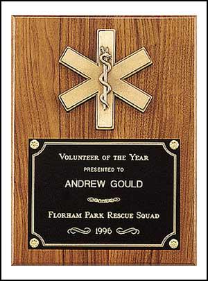 9 X 12 Emergency Medical Award