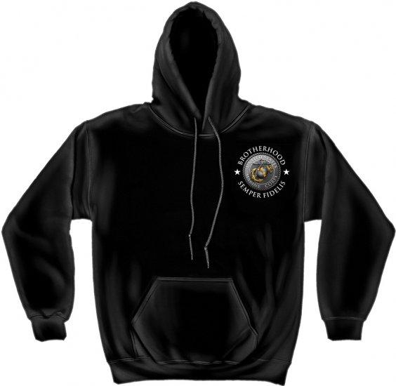 Hooded Sweat USMC Brotherhood