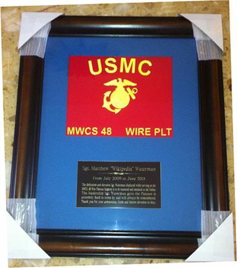 Mini Guidon Frame Award 2 (Custom)
