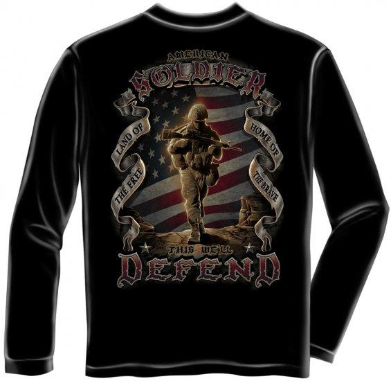 Long Sleeve American Soldier